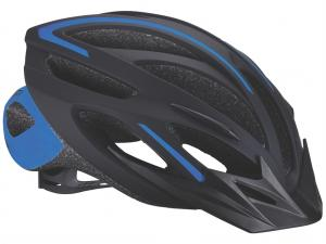 BBB 2015 helmet Taurus black blue (BHE-26)