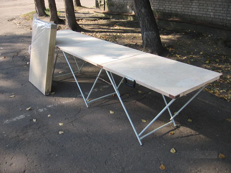 Раскладные столы для торговли своими руками