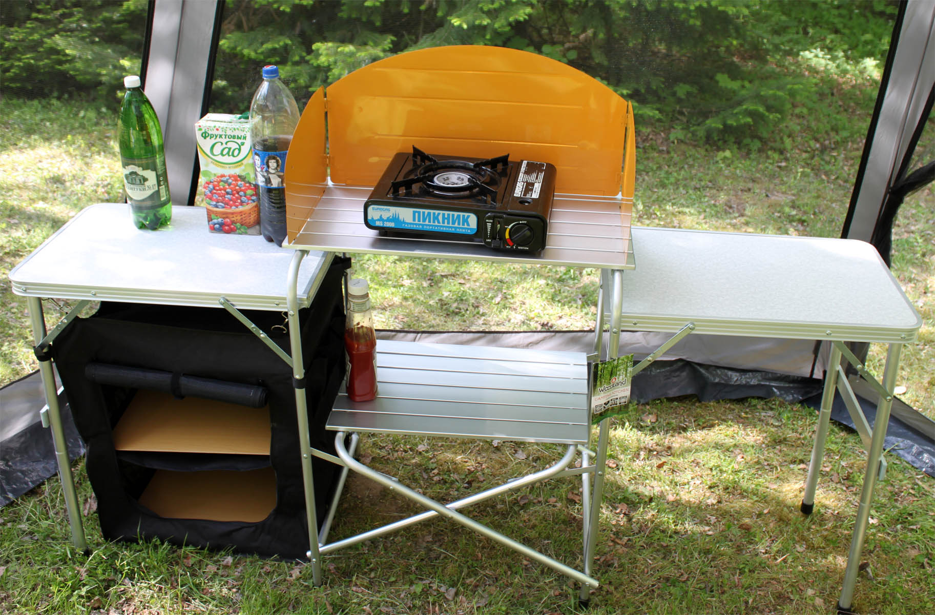 Coleman camping kitchen